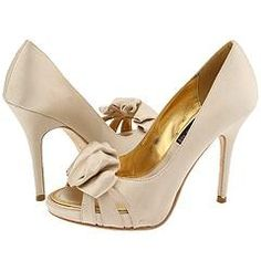 Steven Fanci Champagne Satin - Shoes at Zappos.com Shoes &... | Shop accessories, fashion | Kaboodle