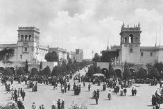 Plaza de Panama in Balboa Park, 1915 #SanDiego #SanDiegoMag