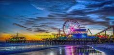 Santa Monica Pier Tao of Now Photography