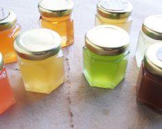 12 campioni, puro miele grezzo.  Scegliere i vostri gusti.