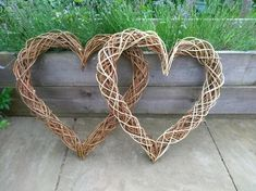 Eco Willow Heart Wall Hanging Natural Bride Wedding Gift Present 9th Wedding Anniversary, Heart Wreath, Garland Wedding, Grapevine Wreath, Mother Gifts, Grape Vines, Valentine Gifts, Wreaths, Nature
