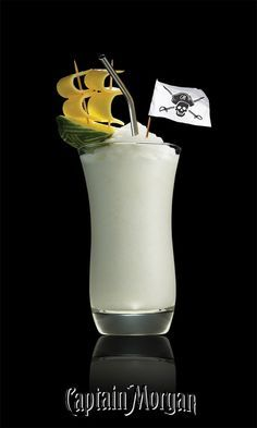 You bring the pineapple I'll bring the Thunder. Take Piña Colada recipes to the next level with my Captain Morgan Pineapple Rum.