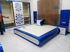 Bedroom False Ceiling Design, Bedroom Closet Design, Bedroom Furniture Design, Closet Designs, Wood Furniture Legs, Bed Furniture, Lcd Unit Design, Condominium Interior, Dressing Table Design