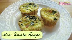 Mini Quiche Recipe - The Holistic Mama Breakfast Quiche, Make Ahead Breakfast, Breakfast Recipes, Breakfast Ideas, Clean Eating Recipes, Healthy Eating, Healthy Food, Mini Quiche Recipes, Real Food Recipes