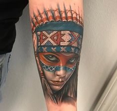 Native American Portrait | Best tattoo ideas & designs