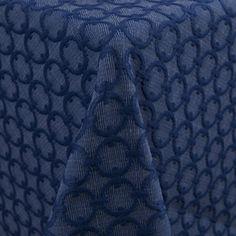 Low Cocktail tables + Bar: Circle  Color: Blue Marine - La Tavola Fine Linen