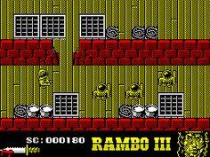 Sylvester Stallone - Rambo III (Ocean - 1988): In game