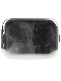 Shop Maison Martin Margiela Silver patent leather wallet in  from the world's best independent boutiques at farfetch.com. Over 1000 designers from 60 boutiques in one website....love this!