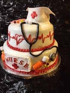 76 Best Doctor Nurse Cakes Images On Pinterest