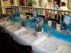 Three Tablescapes: A Baby Shower, Beach Fun and Inspiration for Thanksgiving