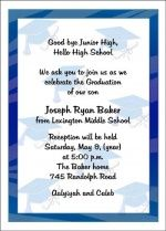 create your 8th grade graduation announcements invitations - 8th Grade Graduation Invitations