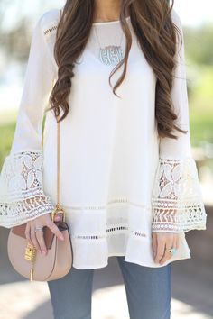 Southern Curls & Pearls: Bell Sleeve Obsessed                                                                                                                                                                                 More