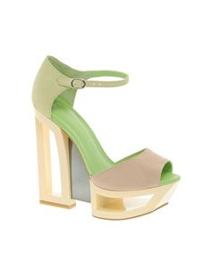 HOLLAND Leather Heeled Sandals $124