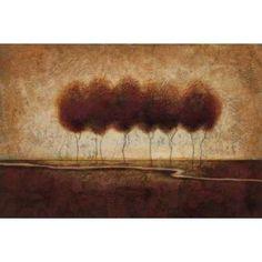 Abstract Landscape IV Canvas Art - Susan Osborne (12 x 18)