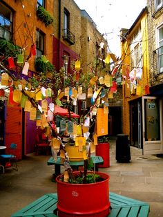 Neal's Yard - London.
