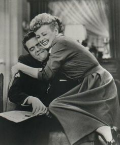 Lucy & Ricky! I think I watched every re-run as a child.. loved this show and still do!