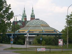 Kielce - the city I was born and lived for 19 years UFO-shaped bus station in Kielce, Poland