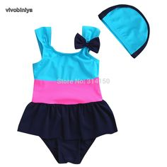 Swimwear Kids Girls Bow Sling Black And White Stripe Bikini Baby Girls Bathing Suit Swimsuit Swimwear Swimming Costume Popular 100% Original
