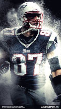 New England Patriots Rob Gronkowski Wallpaper