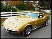 1969 Chevrolet Corvette L89 Coupe, Documented with Protect-O-Plate, dealer jacket, Corvette work order and all owner history