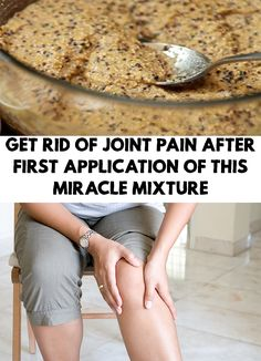 Ageing affects our health, especially when it comes to proper joint and bone function. Get Rid Of Joint Pain After First Application Of THIS Miracle Mixture