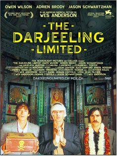 The Darjeeling Limited (2007) Directed by Wes Anderson. Starring Owen Wilson, Adrien Brody, Jason Schwartzman