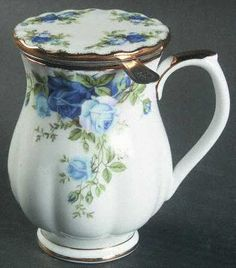 Royal Albert Moonlight Rose Mug with Lid Infuser 6918547. I have identical old country roses mug with lid and infuser but cannot find image. Just love it.
