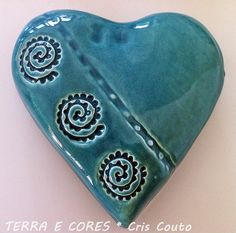 Coração TURQUOISE ~ by cris couto 73 / Flickr _____________________________ Reposted by Dr. Veronica Lee, DNP (Depew/Buffalo, NY, US)