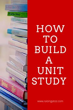 Building a Unit Study for your homeschool is easier than you think. Follow these simple steps to create an awesome unit study! School Fun, Middle School, Lesson Plans, Raising, Unit Studies, Study, The Unit, How To Plan, Create