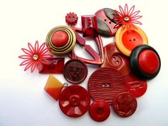 Bakelite and celluloid Buttons