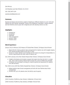 Click Here To Download This Family Services Worker Resume Template