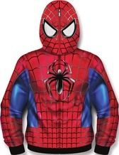 Spider-Man Sublimated Costume Fleece Zip-Up Hoodie - Entertainment Earth Man Thing Marvel, Hulk, Spiderman, Zip Ups, Entertaining, Costumes, Superhero, Hoodies, Fictional Characters
