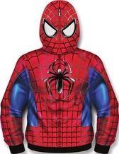 Spider-Man Sublimated Costume Fleece Zip-Up Hoodie - Entertainment Earth Man Thing Marvel, Hulk, Spiderman, Zip Ups, Costumes, Superhero, Hoodies, Fictional Characters, Deadpool