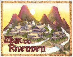 Walk to Rivendell: New Running/Walking goal--I would so be able to make the quest in Middle Earth.