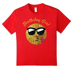 Birthday Emoji T Shirt Birthday Girl Heart Kiss Shades Emoji Emoji Shirt, Dog Shirt, Cute Shirts, Funny Shirts, Funny 4th Of July, Birthday Shirts, Birthday Emoji, Birthday Woman, Branded T Shirts