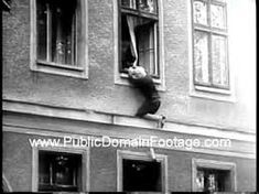 Early on there were buildings along the Berlin Wall that had windows overlooking West Germany. Many people escaped to the West this way. West Berlin, Berlin Wall, Boogie Woogie, Cold War, Historical Photos, Past, Freedom, 23 August, History