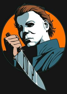 These descriptions are killing me Films D' Halloween, Halloween Drawings, Halloween Painting, Halloween Horror, Halloween Art, Halloween 2018, Horror Posters, Horror Icons, Michael Myers Drawing