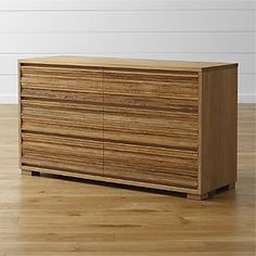 Sierra Six Drawer Dresser