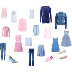 Soft summer - wardrobe ideas for summertime