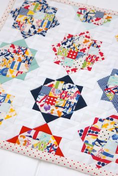 MessyJesse: Oh, Another Mini Quilt*