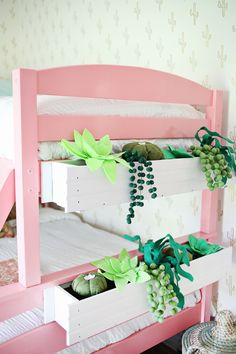 Felt Succulent Window Box DIY   A Beautiful Mess   Bloglovin'