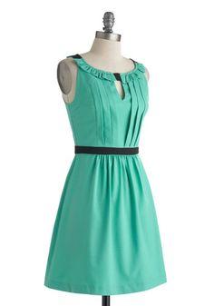 Wouldn't You Verdigris? Dress, #ModCloth