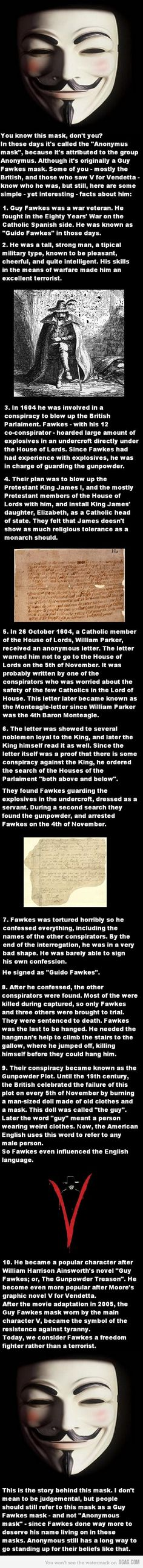 I hope this is true. The story of Guy Fawkes, happy Guy Fawkes Day!!! Remember,  Remember the 5th of November! !