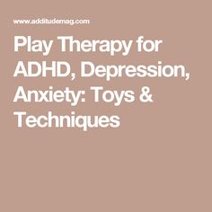 Play therapy can help children manage conditions ranging from ADHD to PTSD. Here, learn about the toys, techniques, and activities you can use at home. Play Therapy Techniques, Therapy Tools, Art Therapy, Kids Therapy, Therapy Ideas, Counseling Psychology, School Psychology, School Counseling, Psicologia