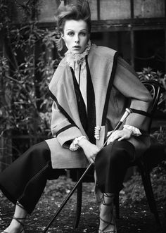 Edie Campbell by Boo George for Twin Magazine