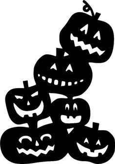 Pile o' Pumpkins Halloween Vinyl Decal Vinyl Decal Halloween Vinyl, Fete Halloween, Halloween 2020, Halloween Pumpkins, Halloween Crafts, Halloween Decorations, Halloween Stencils, Adornos Halloween, Manualidades Halloween