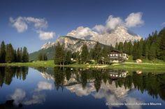 Lago Antorno Belluno Dolomiti Veneto Italia