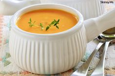 Creamy Sweet Potato and Pear Soup