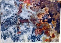 Quiet Corner Art Quilt Group: Ice Dyeing