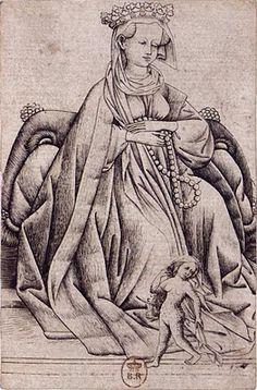 The Queen of Wild Men  Courtesy of the Kupferstichkabinett, Dresden, Germany